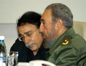 Fidel junto aRamonet
