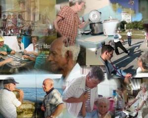 ancianos cubanos